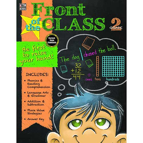 FRONT OF THE CLASS BOOK GR 2
