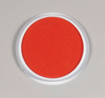 JUMBO CIRCULAR WASHABLE ORANGE PAD