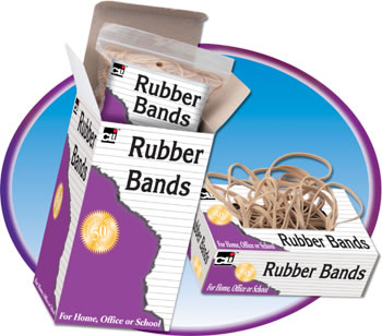 RUBBER BANDS ASSORTED SIZES