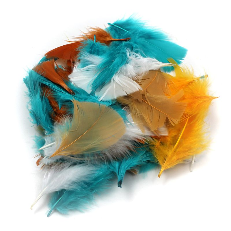 TURKEY FEATHERS COUNTRY COLORS 14G