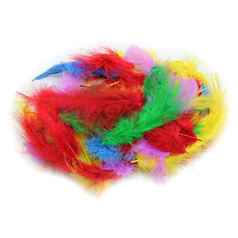MARABOU FEATHERS 14 GRAM BAG