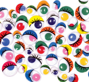 PAINTED EYES 100 PCS