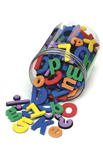 WONDERFOAM MAGNETIC LETTERS 105 PCS