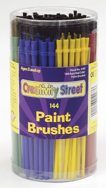 ECONOMY BRUSHES 144-PK 24 EACH OF