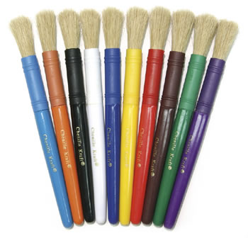 COLOSSAL BRUSHES 10-SET ASSORTED