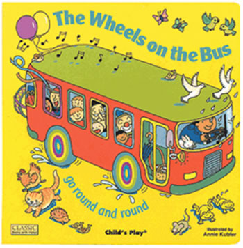 CLASSIC BOOKS-W-HOLES THE WHEELS