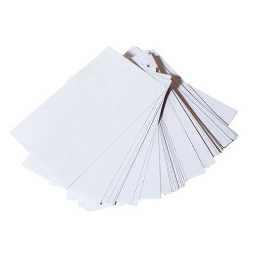"Cards Unlined Index  3"" x 5"" pkg.100"