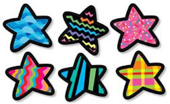 STARS DESIGNER CUT-OUTS