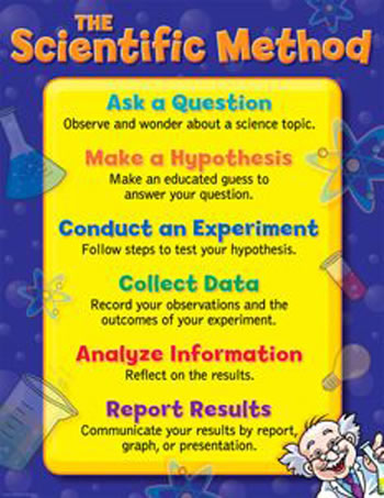 THE SCIENTIFIC METHOD SMALL CHART