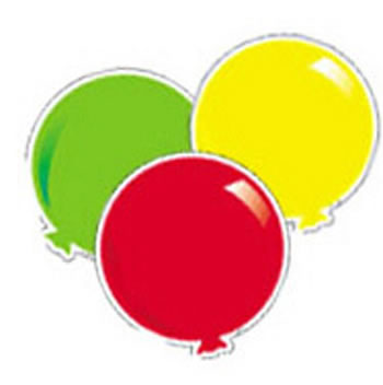BALLOONS VARIETY DESIGNER CUT-OUTS