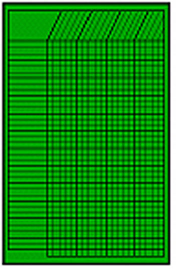 CHART INCENTIVE SMALL GREEN