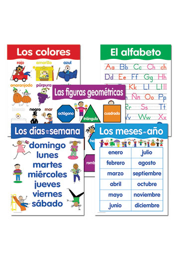 SPANISH BASIC SKILLS 5 CHART PACK
