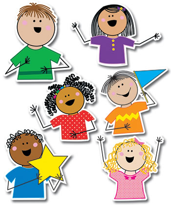 STICK KIDS JUMBO CUT OUTS