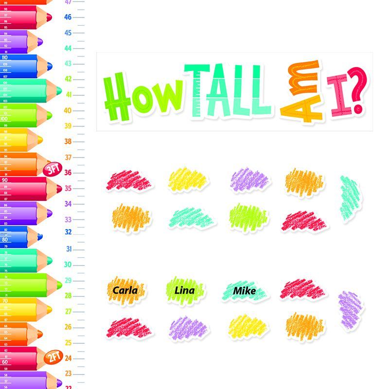 PAINTED PALETTE GROWTH CHART MINI