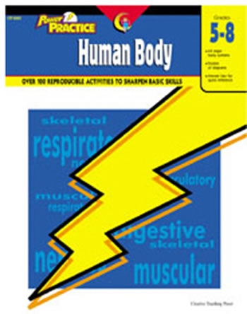 POWER PRACTICE HUMAN BODY GR 5-8