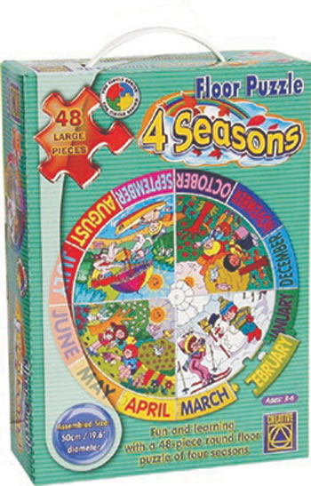 FOUR SEASONS FLOOR PUZZLE
