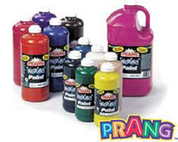 PRANG WASHABLE PAINT 16OZ ORANGE