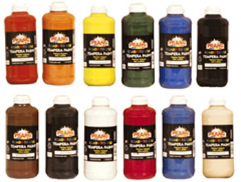 PRANG TEMPERA PAINT 12/SET 16OZ
