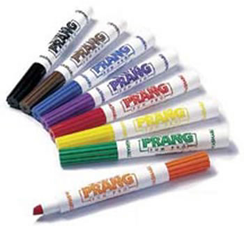 PRANG WASHABLE MARKERS CONICAL