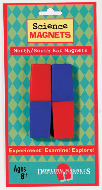 SCIENCE MAGNETS NORTH/SOUTH BAR