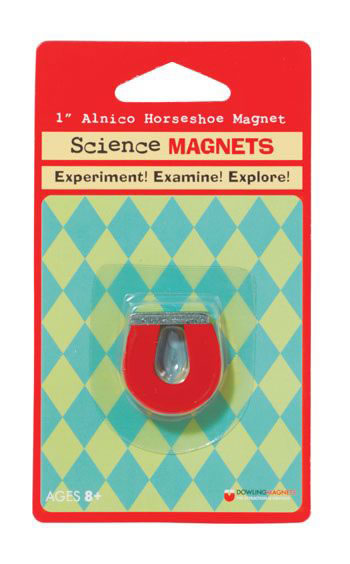 SCIENCE MAGNET 1IN ALNICO HORSESHOE