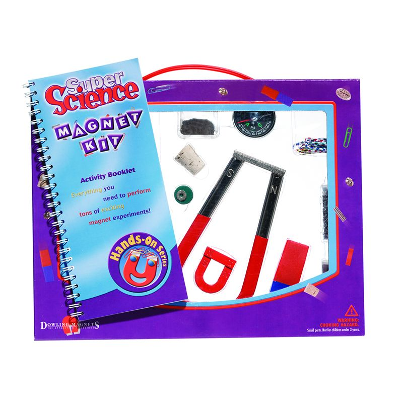 SUPER SCIENCE MAGNET KIT GR 3 & UP