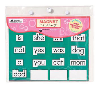 MAGNET LITERACY HIGH FREQUENCY WORD