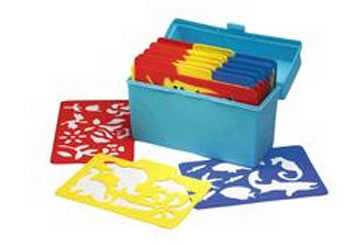 STENCIL MILL 24/PK IN PLASTIC BOX