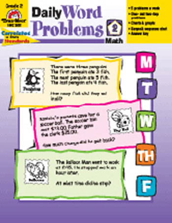 DAILY WORD PROBLEMS GR 2