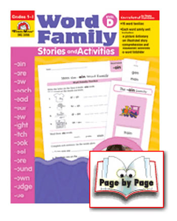 BOOK WORD FAMILY LEVEL D STORIES &