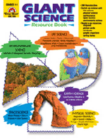 GIANT SCIENCE RESOURCE BOOK GR 1-6