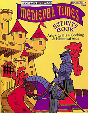 ACTIVITY BOOK MEDIEVAL TIMES GR 2-6