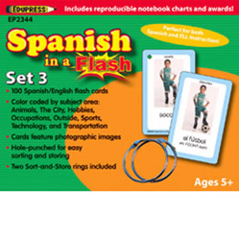 SPANISH IN A FLASH SET 3