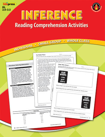 INFERENCE COMPREHENSION BOOK RED