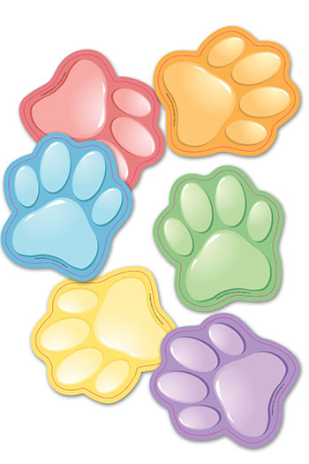 PAW PRINTS BB SET ACCENT