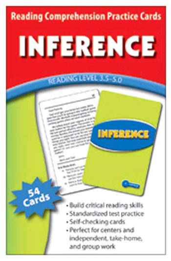 INFERENCE PRACTICE CARDS READING