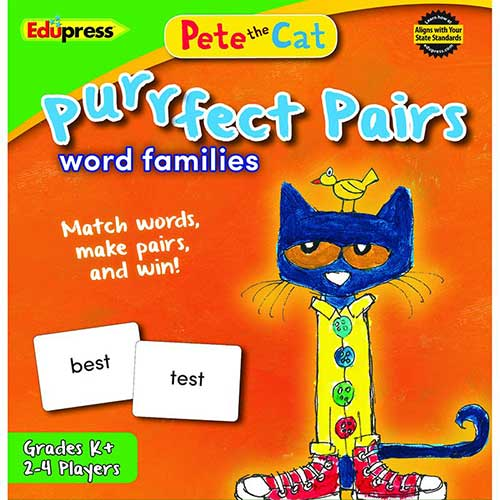 PETE THE CAT PURRFECT PAIRS WORD