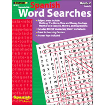 SPANISH IN A FLASH WORD SEARCHES 2