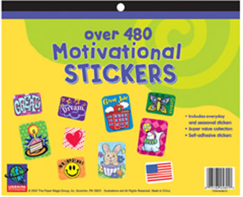 JUMBO STICKER BOOKS 1442 CT