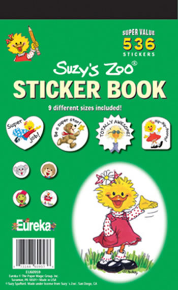SUZYS ZOO STICKER BOOK