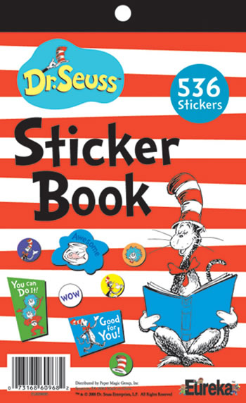 CAT IN THE HAT STICKER BOOK