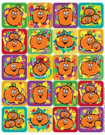 PUMPKINS THEME STICKERS