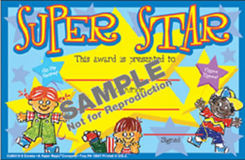 SUPER STAR RECOGNITION AWARD