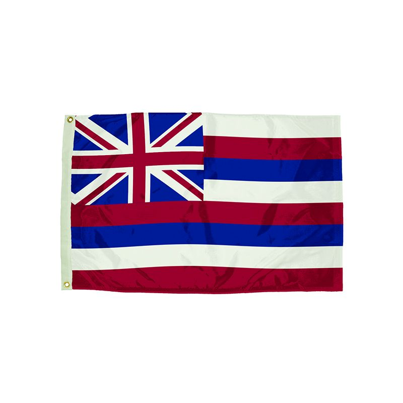 3X5 NYLON HAWAII FLAG HEADING &