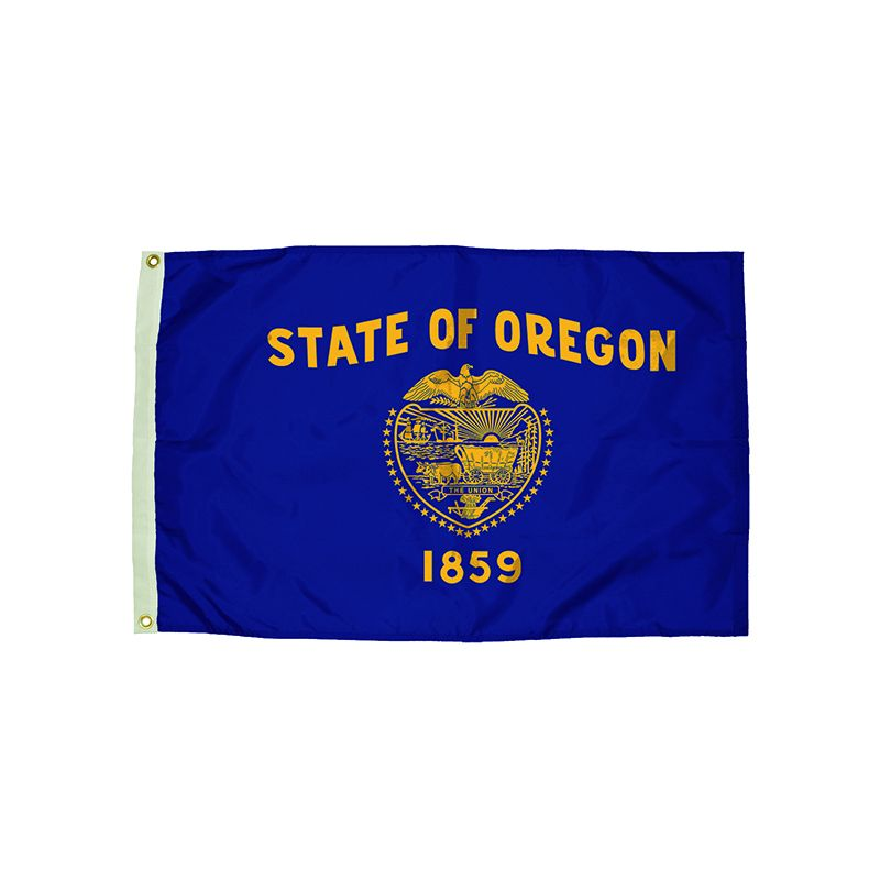 3X5 NYLON OREGON FLAG HEADING &