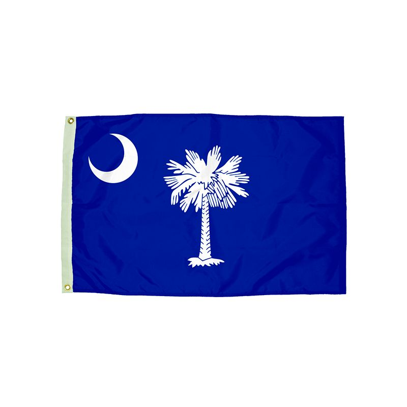 3X5 NYLON SOUTH CAROLINA FLAG