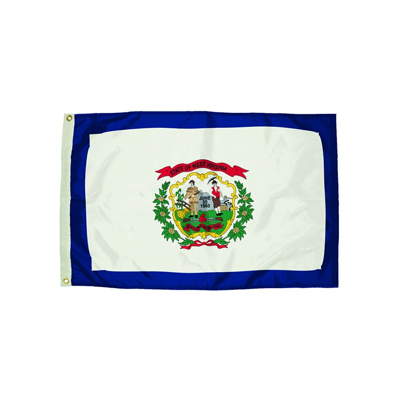 3X5 NYLON WEST VIRGINIA FLAG