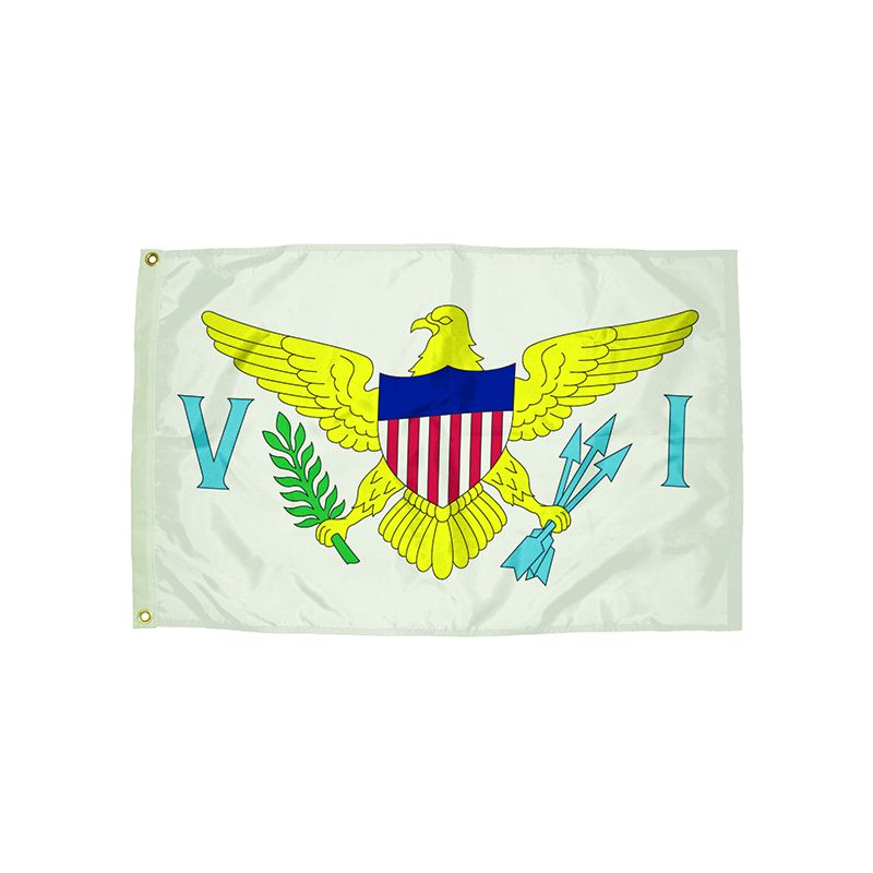 3X5 NYLON US VIRGIN ISLAND FLAG