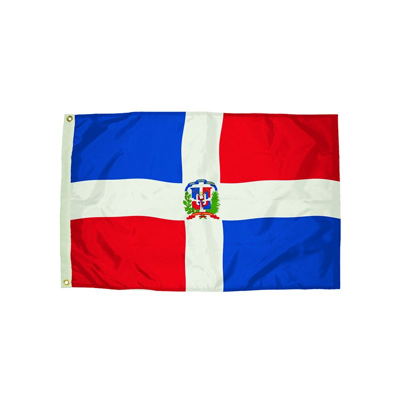 3X5 NYLON DOMINICAN REPUBLIC FLAG