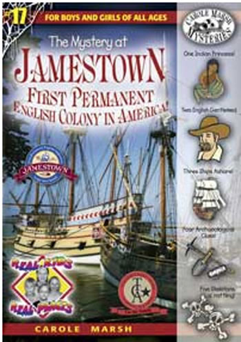 THE MYSTERY AT JAMESTOWN CAROLE
